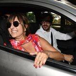 Yolanda Ramos en la boda de Elena Furiase y Gonzalo Sierra