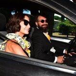 Belén López en la boda de Elena Furiase y Gonzalo Sierra