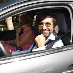 Antonio Carmona en la boda de Elena Furiase y Gonzalo Sierra