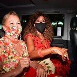 Rosario Flores en la boda de Elena Furiase y Gonzalo Sierra
