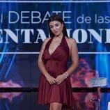 Lola en el primer debate de 'La última tentación'