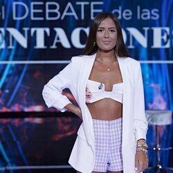 Melyssa Pinto en el primer debate de 'La última tentación'