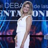 Sandra Barneda posa como la presentadora del primer debate de 'La última tentación'