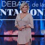 Terelu Campos en el primer debate de 'La última tentación'