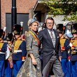 Constantino y Laurentien de Holanda en el Prinsjesdag 2021