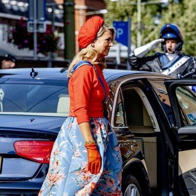 Máxima de Holanda en el Prinsjesdag 2021