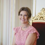 Marta Luisa de Noruega en un retrato por su 50 cumpleaños