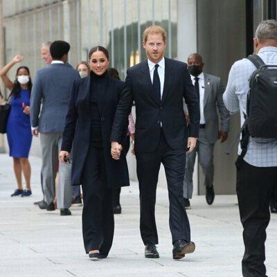 El Príncipe Harry y Meghan Markle en su regreso a la vida pública