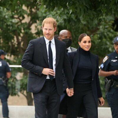 El Príncipe Harry y Meghan Markle en Nueva York en su vuelta a la vida pública