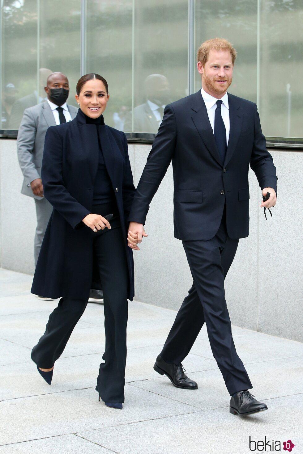 El Príncipe Harry y Meghan Markle visitan Nueva York