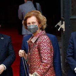 La Reina Sofía en la inauguración de la temporada 2021/2022 del Teatro Real