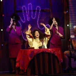 Ela Ruiz en el musical de 'Ghost'