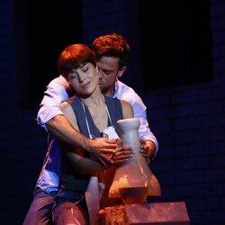 Ricky Merino y Cristina Llorente en el musical 'Ghost'