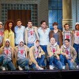 Todo el elenco del musical 'Ghost'