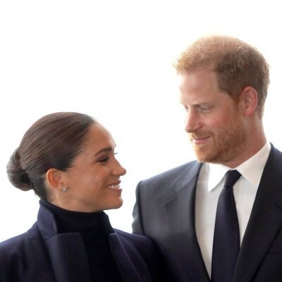 El Príncipe Harry y Meghan Markle se miran con cariño en Nueva York