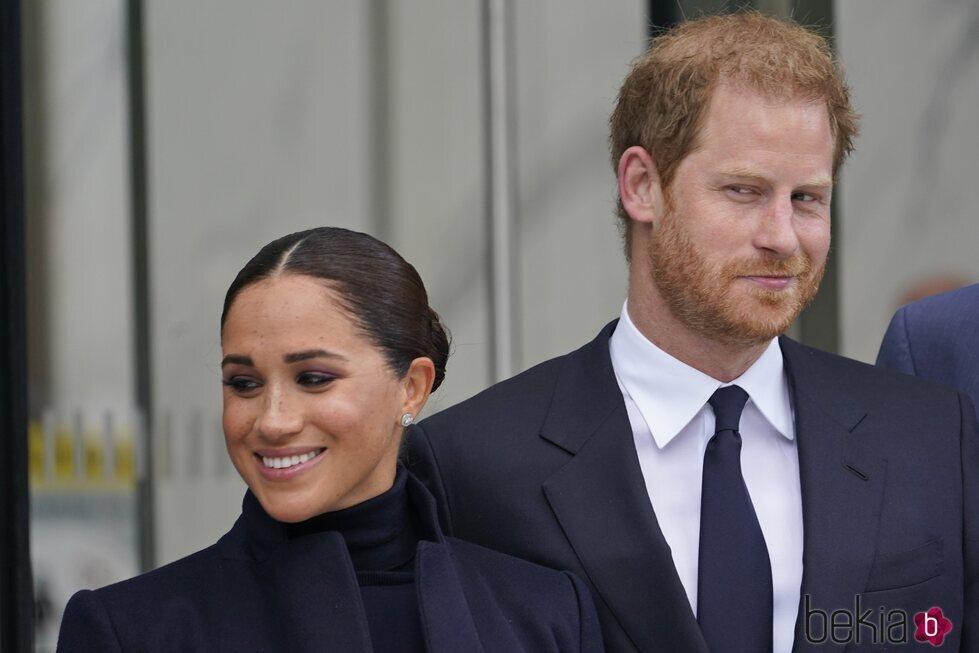 El Príncipe Harry y Meghan Markle, muy simpáticos en Nueva York
