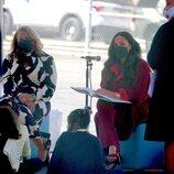 Meghan Markle haciendo de cuentacuentos durante una visita a una escuela de Nueva York