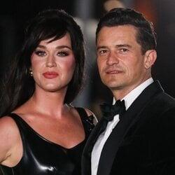 Katy Perry y Orlando Bloom  en la presentación del Academy Museum Of Motion Pictures