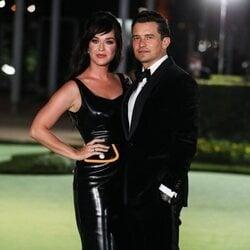 Katy Perry y Orlando Bloom en la inauguración del Academy Museum of Motion Pictures