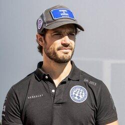 Carlos Felipe de Suecia en la Porsche Carrera Cup Scandinavia