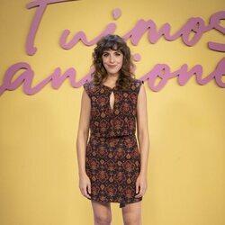 Silma López en la presentación de 'Fuimos canciones'