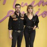 Andrea Guasch y Rosco en la presentación de 'Fuimos canciones'