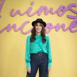Juana Macías en la presentación de 'Fuimos canciones'