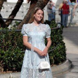 Flora Ogilvy en la boda de Jaime de Borbón-Dos Sicilias y Lady Charlotte Lindesay-Bethune
