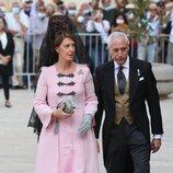 Sofía Landaluce en la boda de Jaime de Borbón-Dos Sicilias y Lady Charlotte Lindesay-Bethune