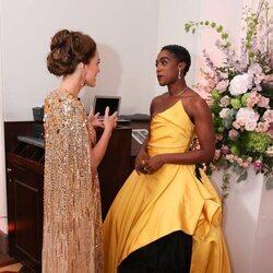 Kate Middleton y Lashana Lynch en el estreno de 'Sin tiempo para morir'