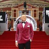 Daniel Craig en la premiere de 'Sin tiempo para morir' en Londres