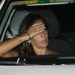 Anabel Pantoja entrando en Cantora tras la muerte de Ana Martín