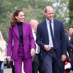 El Príncipe Guillermo y Kate Middleton en la Ulster University en Irlanda del Norte