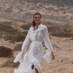 Susana Molina en la boda de Anabel Pantoja y Omar Sánchez