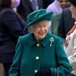La Reina Isabel en la sesión inaugural del Parlamento en Escocia