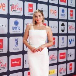 Andrea Duro en la alfombra roja de los Premios Platino 2021