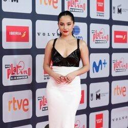 Becky G en la alfombra roja de los Premios Platino 2021