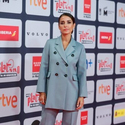 Inma Cuesta en la alfombra roja de los Premios Platino 2021