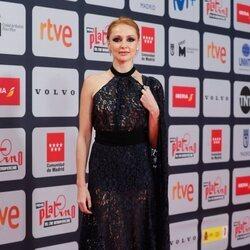 Cristina Castaño en la alfombra roja de los Premios Platino 2021