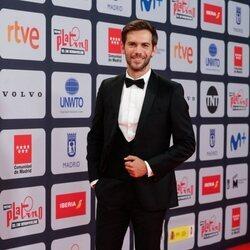 Marc Clotet en la alfombra roja de los Premios Platino 2021