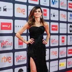 Goya Toledo en la alfombra roja de los Premios Platino 2021