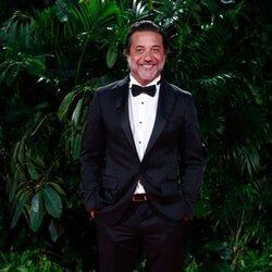 Enrique Arce en la fiesta de los Premios Platino 2021