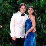 Renata Notni y Diego Boneta en la fiesta de los Premios Platino 2021