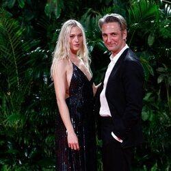 Ernesto Alterio y Ella Jazz en la fiesta de los Premios Platino 2021