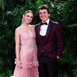 Marta Hazas y Javier Veiga en la fiesta de los Premios Platino 2021