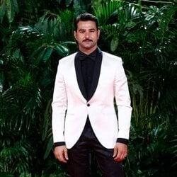 Antonio Velázquez en la fiesta de los Premios Platino 2021