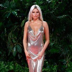 Valentina Zenere en la fiesta de los Premios Platino 2021