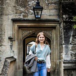 Isabel de Bélgica en el Lincoln College Oxford