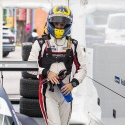 Carlos Felipe de Suecia en la Porsche Carrera Cup Scandinavia 2021