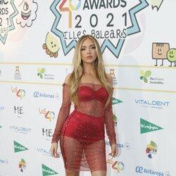 Ana Mena en la cena de nominados de Los 40 Music Awards 2021